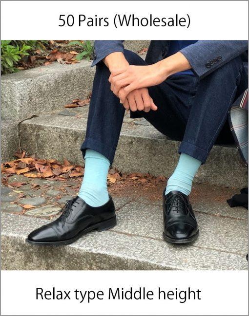 Japanese socks Relax middle long