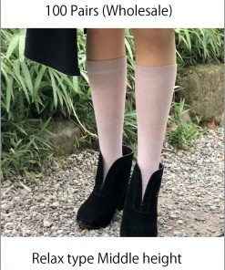 Japanese socks Relax middle long